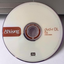 Wholesale 10 discs A+ Ahuang 8x 8.5 GB Blank Printed DVD+R DL(China)
