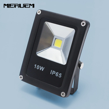 DC 12V 10W Waterproof IP65 LED Flood Light Floodlight Landscape Outdoor Lighting Lamp Square Garden Spotlights with connector