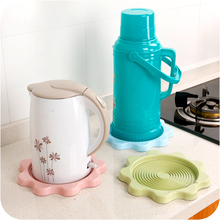 1pc Hot Thermos Pad Tampon Tray Leak Water Cushion Heat Resistant Mat(China)