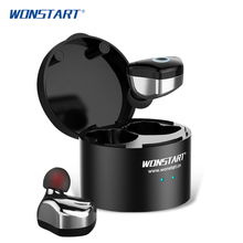 Mini Touch Control Wireless Bluetooth Earphones Sport Wireless Bluetooth Earbuds With Microphone For Cell phone Wonstart W6(China)