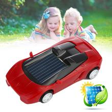 Hot Solar Power Car Mini Toy Car Racer Educational Gadget Children Educational Enlighten Doll Kids Gift(China)