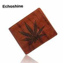 Fashion and Good quality Men Leather  Cash Receipt Holder Organizer Bifold Wallet Purse ID- credit card holder gift wholesale