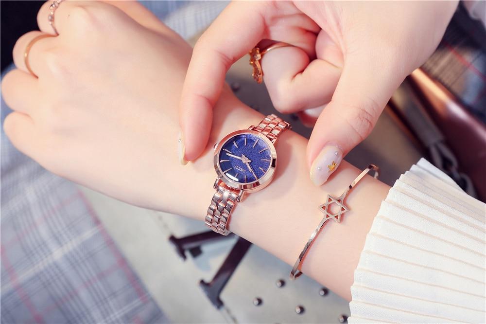 KEZZI relogio-feminino Bracelet Watch Women Stainless Steel Watches Gold Ladies Female bilezik saat Wrist Watch bayan-kol-saati