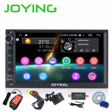 "Joying Newest Android 6.0Marshmallow Double 2 Din 7"" DVD Player Universal GPS Navigation Car radio Support DAB+ TV Bluetooth USB"