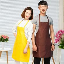 Fashion Thicken Cotton Cooking Baking Aprons Kitchen Apron Restaurant Aprons  with Pockets For Women Men Home Sleeveless Apron