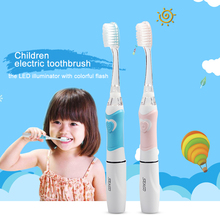 Seago Sonic Electric Toothbrush Children kids Intelligent Soft Bristle Tooth Brush Electric Brush Teeth Oral Care 2 Brush Heads(China)