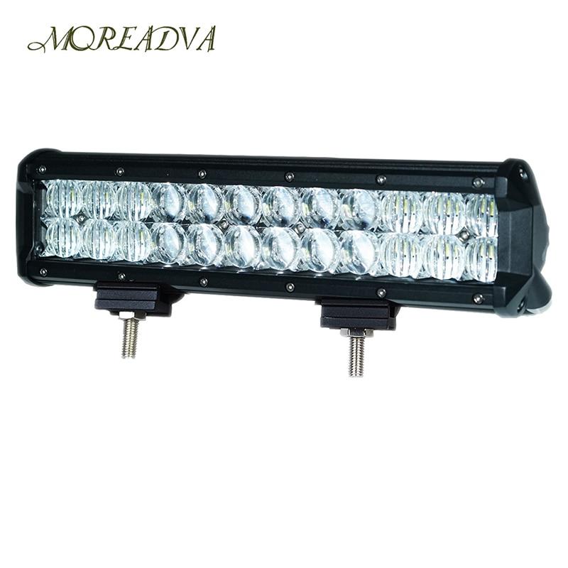 MOREADVA 12inch 168W Led Light Bar 5D Led Chip Flood Spot Combo 12V 24V Led Off Road Light Bar Car For SUV Truck 4x4<br><br>Aliexpress