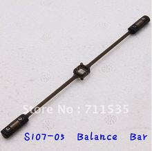 S107-05 Balance Bar Pole Spare Parts For Mini Metal Alloy 3Ch Remote Control Heli With GYRO S107 S107G S105G RC helikopter(China)