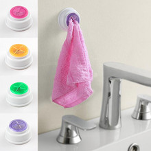1PCS kitchen accessories Wash cloth clip holder clip dishclout storage rack bath room storage hand towel rack Hot 2017(China)