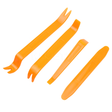 New 4 pcs Portable Auto Car Radio Panel Door Clip Panel Trim Universal Dash Audio Removal practical Install Pry Kit Repair Tool
