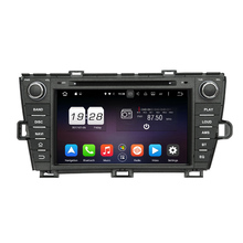 8 inch Octa Core 2GB RAM 1024*600 Android 6.0 Car DVD Player Fit For Toyota Prius 2009-2013 with GPS Bluetooth 4G WIFI Digital