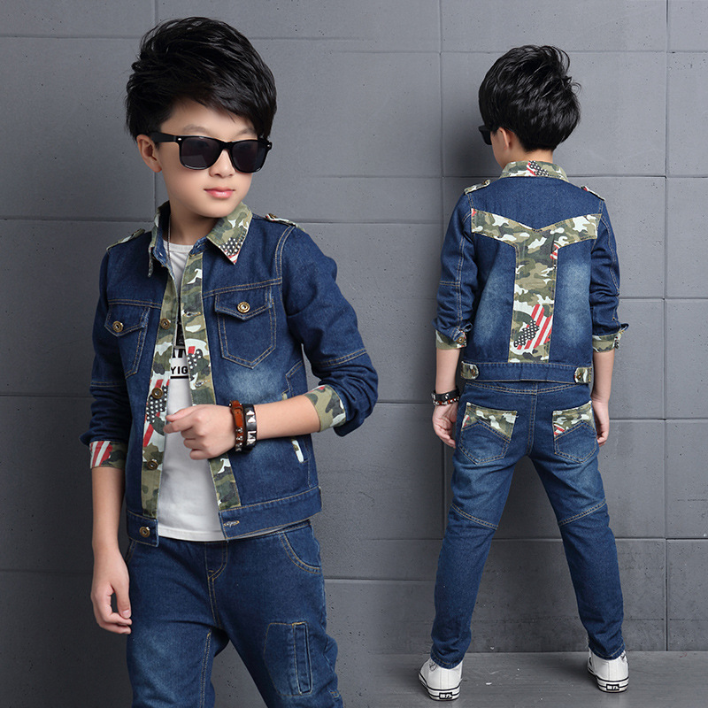 Boys Sport Suits 2018 Cartoon Boys Clothing Sets Tracksuit for Boys Kids Suit Sets Uniform Boys Jackets Pants 2pcs Sets<br>