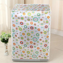 Front Loading Washing Machine PVC Dust Proof Cover Waterproof Case Washing Machine Protective Dust Jacket 60*55*85cm 1PC