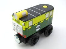 Wooden Thomas Train T001W PHILI 68# Thomas And Friends Trackmaster Magnetic Tomas Truck NO.68 Engine Railway Toys for Boys(China)