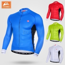 Buy VEOBIKE 2017 Cycling Jersey Long Sleeve Tops Shirts Bike Ropa Ciclismo MTB Bicycle Jerseys Outdoor Sports Wear Clothing for $36.41 in AliExpress store