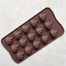 15 even the expression of silicone gel chocolate mold silicone ice cube ice mold