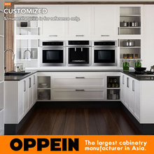 2015 Custom Wood Furniture Modern Kitchen Cabinets Made in China OP15-S14