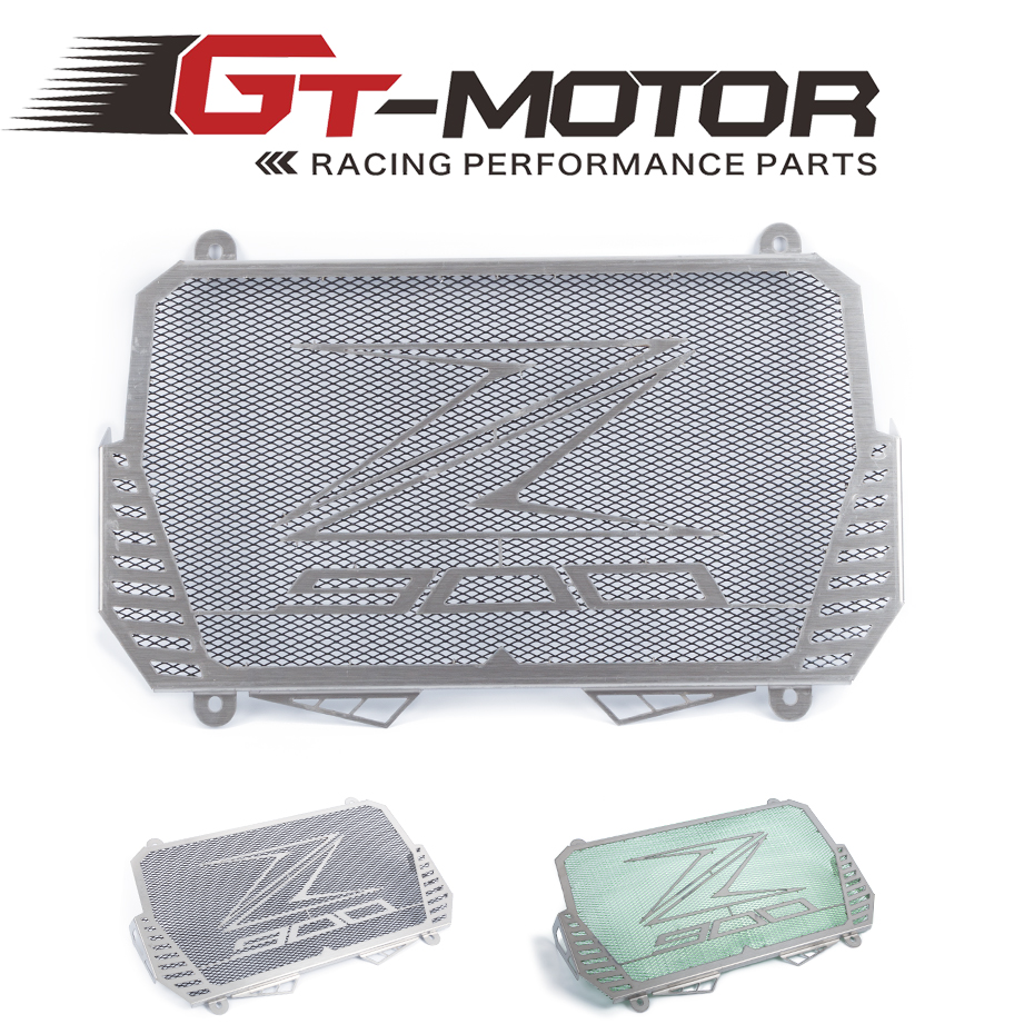 GT Motor - New Arrival For Kawasaki Z900 2017 Stainless Steel Motorcycle radiator guard protector cover Bezel Grille<br>