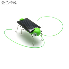 JMT Solar Grasshopper Science Small Toys Creative Novelty Gifts Solar Small Gifts DIY Frightened Grasshopper F19162