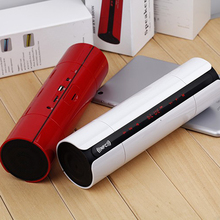 Portable NFC FM HIFI Speaker Bluetooth Speaker Wireless Stereo Loudspeakers Super Bass Caixa Se Som Sound Box Hand Free(China)