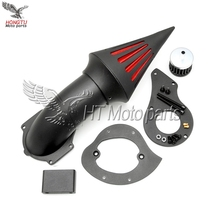 Motorcycle Modified Spike point Air Cleaner Filter Assembly For Honda Steed VT400 600 VLX400 600 1999-UP