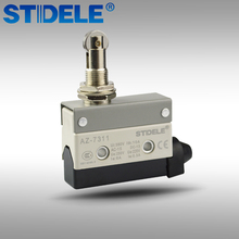 Roller Hinge Lever Micro Limit Switch Momentary Parallel Roller Plunger Actuator 380V 10A AZ-7311