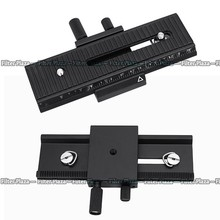 2 Way Macro Focusing Focus Rail Slider For Caon Nikon Pentax Sony A7 A7S DSLR Camera