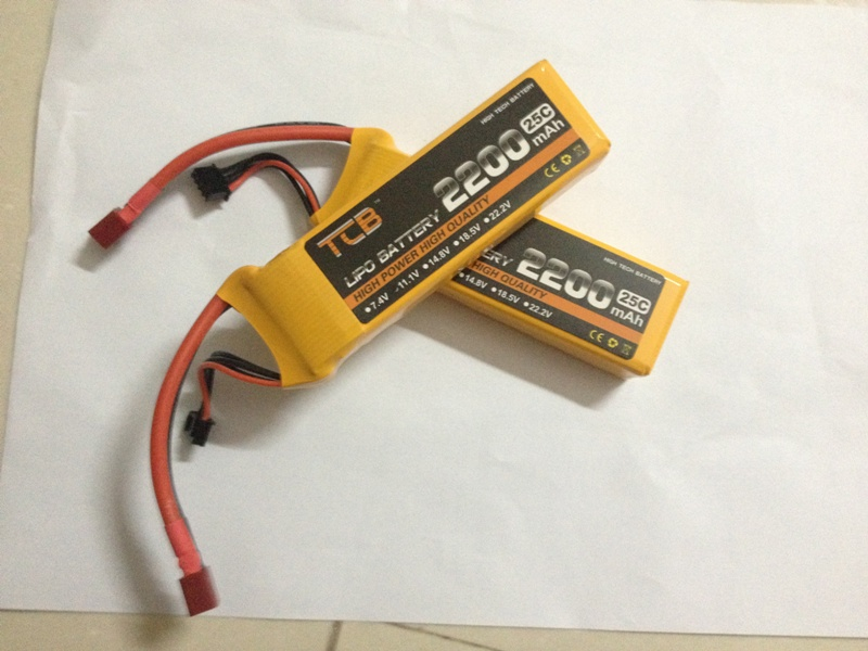 TCB RC lipo battery 7.4v 2200mAh 25C 2s  RC airplane battery factory-outlet goods of consistent quality Free shipping<br><br>Aliexpress