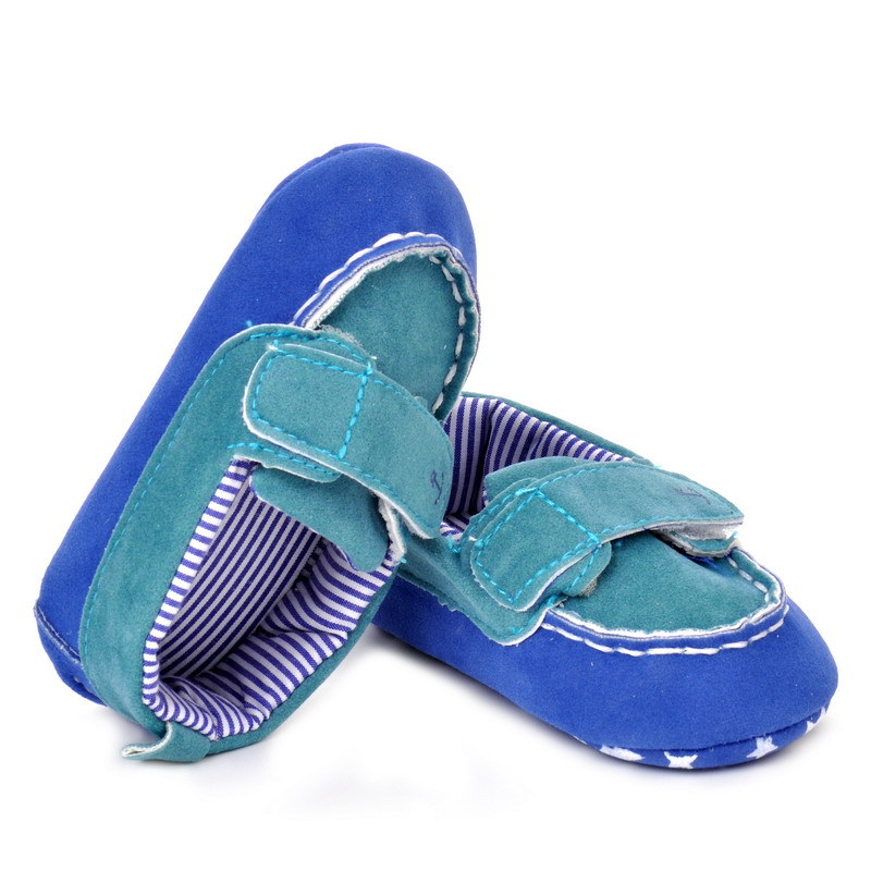 17 Fashion Newborn Baby Girl Boy Shoes Soft Sole Infantil Toddler Baby Boy Sneakers Blue Baby Mocassins Crib Peas Flock Shoes 18