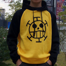 Hot sale One Piece Trafalgar Law Hoodie Jacket coat Cosplay Costumes(China)