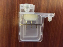 10pcs transparent big damper with square head for Epson DX5 printhead Wit Color Infinity Xenons DX5 printhead(China)