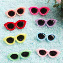 10 x dog Hair Clips bows pet cat puppy sunglasses grooming top knot Accessories(China)