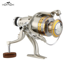 8 BB Fishing Reel Ocean Aluminum Alloy Spool Carp Spinning Reel G-ratio 5.1:1 Fishing Wheel Fishing Gear Carretilha Pesca