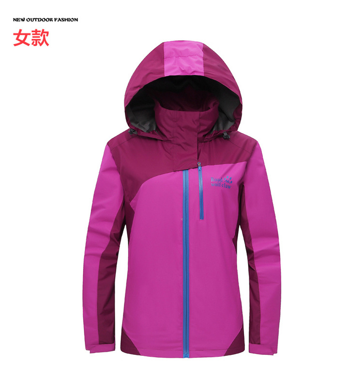 2015 Hiking Brand Fleece Jacket Women Winter Coat Women Windproof Thermal For Hiking Camping Ski<br>