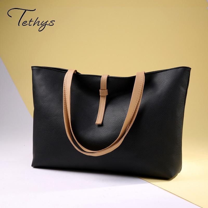 NEW Women Pu Handbags High Quality Shoulder Bags Tassel Twitter Bags Ladies Fashion Tote Sacthel Purse Bolsa 2016<br><br>Aliexpress