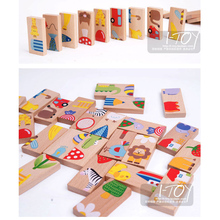 Children 3D Magnetic Puzzles Jigsaw Wooden Toys Cartoon Animals Puzzles Tangram Kids Educational Toys for Baby Children Gifts