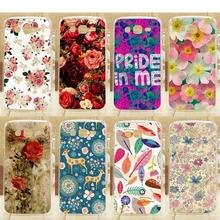 Colored cell phone case For Samsung Star Advance G350E pattern beautiful flowers design skin shell case cover for samsung G350e