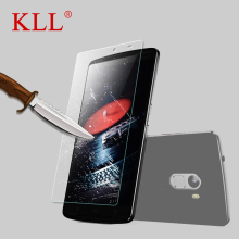Buy KLL Ultra thin Tempered Glass Film Lenovo vibe P1 P1M A880 A2020 A7010 9H Hard 2.5D Screen Protector lenovo a850 plus for $1.24 in AliExpress store