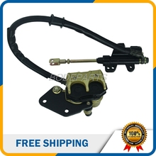 Motorcycle Parts Rear Brake Assembly Master Cylinder Caliper For Small Dirt Pit Bike ATV Street Bike Free Shipping