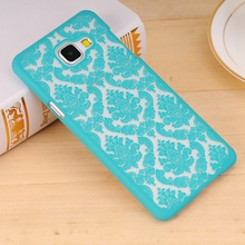 Case For Samsung Galaxy S4 S5 S6 S7 Edge S8 Plus 2016 A3 A5 2017 J1 J3 J5 J7 Prime Phone Cases Palace Flower Hard Plastic Cover