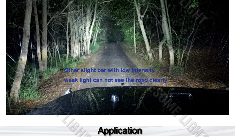 288W LED work light bar (5)