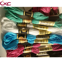 CXC(CXC) embroidery thread cross stitch thread 8m per piece in high color fastness ,Specify five color number thread six strands