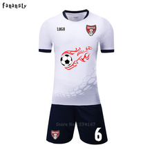 Top quality soccer jerseys 2016 2017 custom football kits men DIY soccer jerseys quick dry training suits new arrival