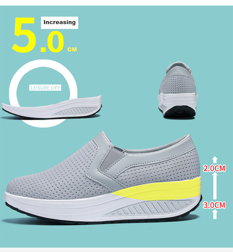 RS 3308 (8) 2017 Autumn Women's Platform Shoes