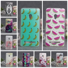 Soft Silicon TPU Mobile Phone Skin Cases For Asus Zenfone5 zenfone 5 A501CG A500CG A500KL 5'' Cases Paint Back Covers for asus 5