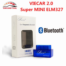 New Arrival V2.1 Super MINI ELM327 Viecar 2.0 Bluetooth OBD2 Scan Interface ELM 327 Auto Diagnostic Tool For Cars Light Trucks