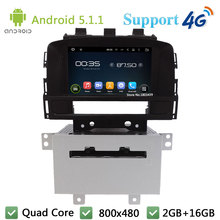 "Quad Core 8"" Android 5.1.1 Car DVD Video Player Radio Stereo Screen PC BT FM DAB+ 3G/4G WIFI GPS Map For Opel Astra J 2011 2012(China)"