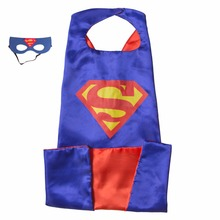 15 styles 110*70cm Adult Superhero capes cape with mask set Satin fabric Spiderman Batman Ironman Halloween Cosplay costumes