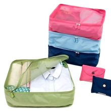 Storage Bag Korean Style 1pc Travel Home Luggage Storage Bag Clothes Storage Organizer Portable Pouch Case 4 Colors D1
