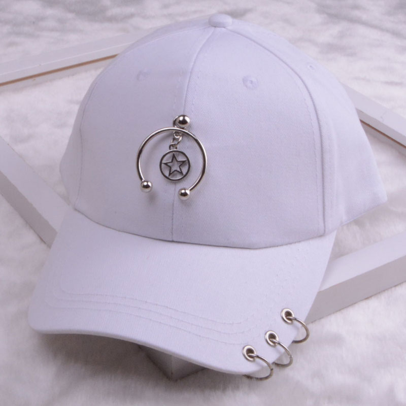 baseball cap with ring dad hats for women men baseball cap women white black baseball cap men dad hat (32)